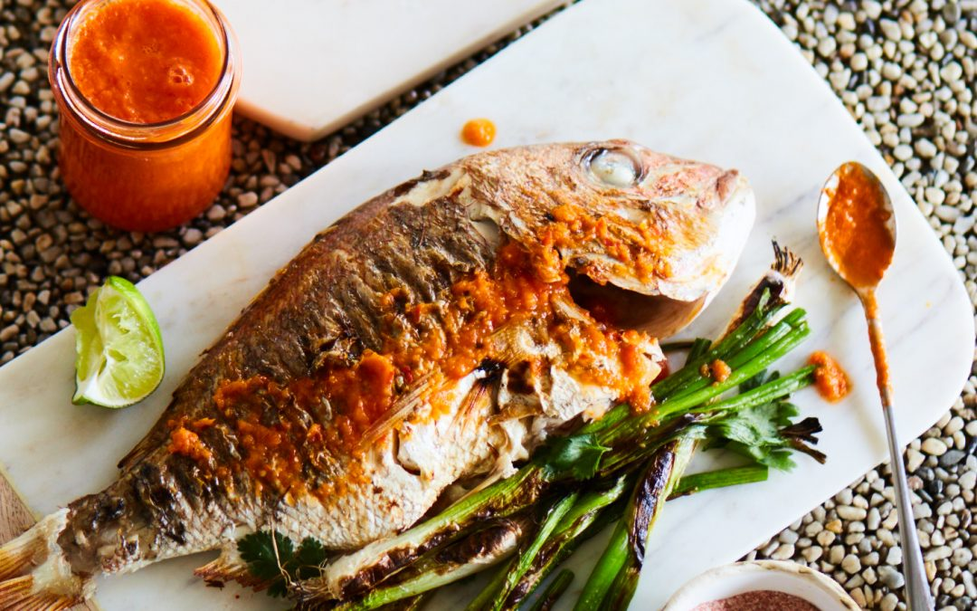 Martina's Grilled Whole Fish