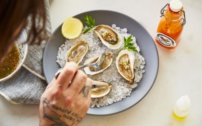 Martina's Spicy Mignonette